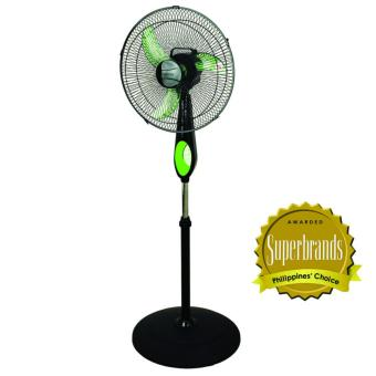"Union 16"" WindPlus Stand Fan UGSF-1640 (Black/Green) Price Philippines"