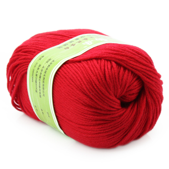 Fantasy 6pc Knitting Wool Yarn – Red Price Philippines