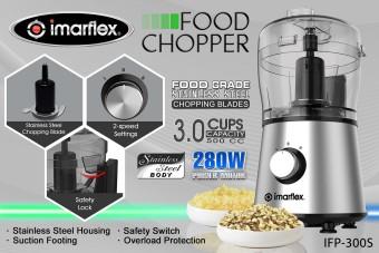 Imarflex IFP-300S Food Chopper 500cc - 2