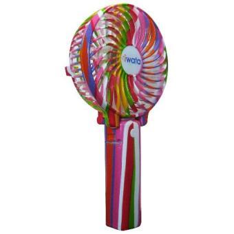 Iwata CM15RHF-01 D416 Portable Rechargeable Fan (Candy) - 3