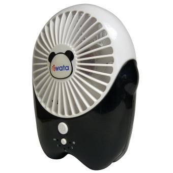 Iwata CM16RHF-07 Portable Rechargeable Fan (White) - 2
