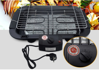 J&J Electric Barbecue Grill (Black)