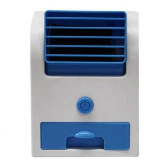 Jasmine Mini Fan Air Conditioning (White/Blue)