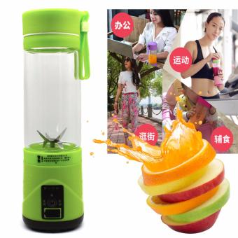 JUICE CUP Portable Electric Blender 420ml (Green)