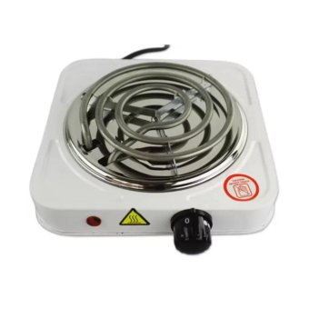 JX-1010B 1000W Electric Cooker Single Hot Plate (White) Cookingplate Price Philippines