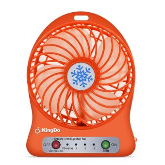 Kingdo Brand Mini USB Rechargeable Portable Cooling Desk Fan Price Philippines
