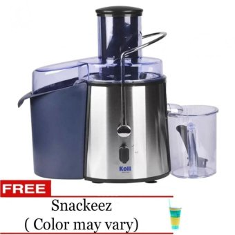 Koii Power Juicer 2L (Silver) with Free Snackeez (Color May Vary)