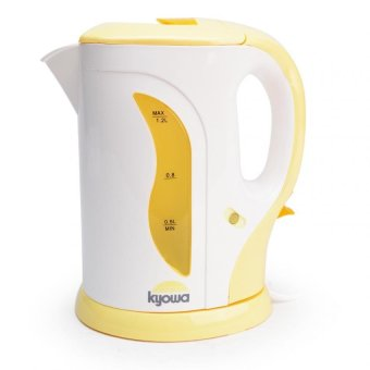 Kyowa KW-1311 Electric Kettle 1.2L (Yellow/White)
