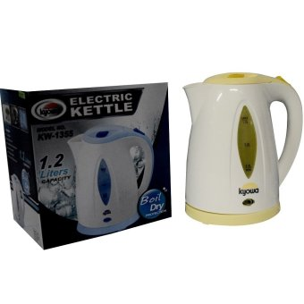 Kyowa KW-1355 Electric Kettle (Yellow/White) - picture 2