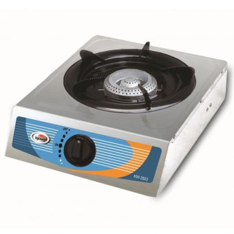 Kyowa KW-3503 Stainless Steel Gas Stove with Automatic IgnitionSwitch (Stainless)
