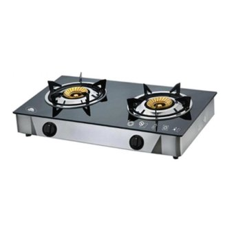 Kyowa KW-3562 2-Burner Gas Stove (Black)