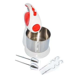 Kyowa KW-4503 Stand Mixer (White/Red)
