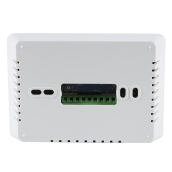 LCD Digital Touch Screen Temperature Controller Programmable AirConditioner Thermostat Black - intl - 5