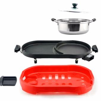 LOVE&HOME Multi-function Electric Hotplate Grill (Red) - 2