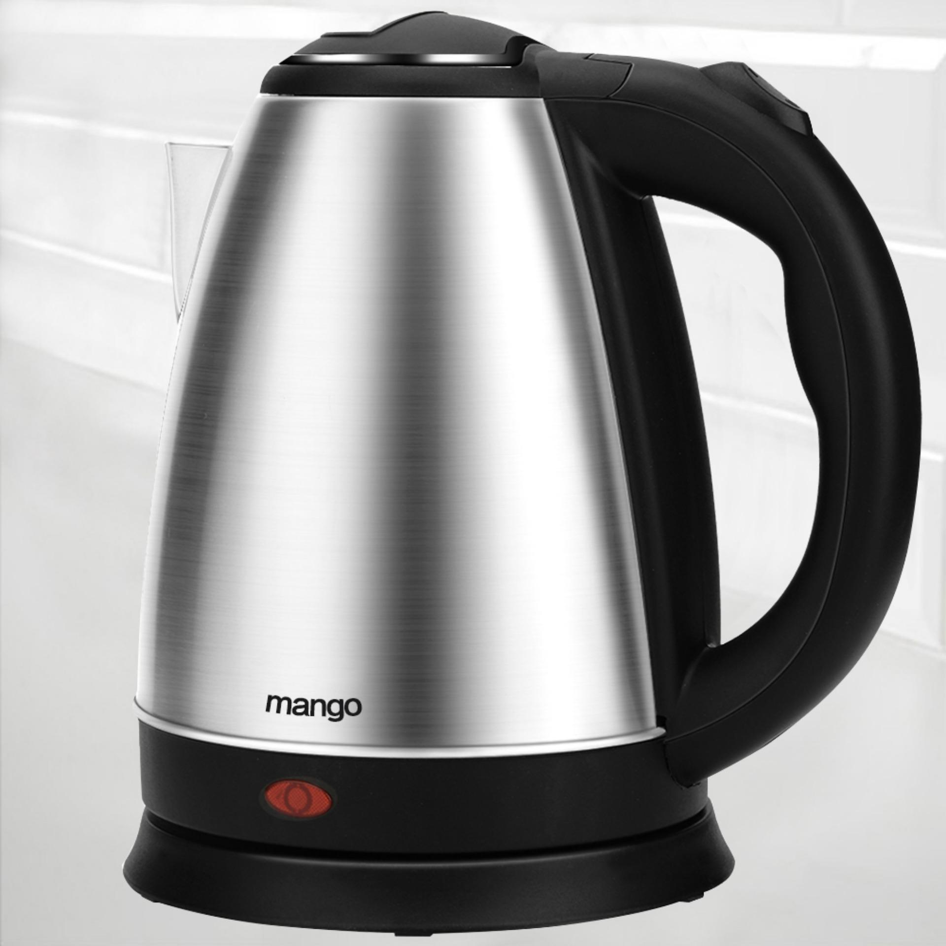 High Grade Stainless Steel Capacity 1 7L Kitchen Electric Kettle Black