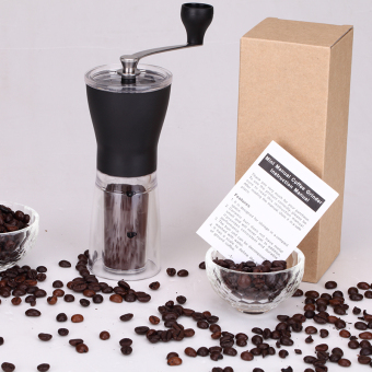 Manual Ceramic Coffee Grinder Washable ABS Ceramic core StainlessSteel Home Kitchen Mini Manual Hand Coffee Grinder - 3