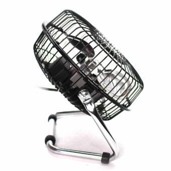 Marubishi MFF-206 High Velocity Fan (Black/Silver) - 3