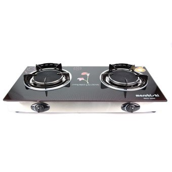 Marubishi MGS 3600 Double Infrared Glass Gas Stove (Black) Price Philippines