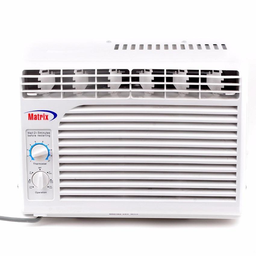air conditioning window. matrix mx-kc1509 0.6 hp window type air conditioner (white) conditioning