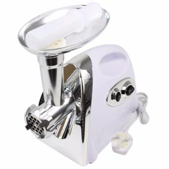 MGB-120 2800W Automatic Electric Meat Grinder Stainless SteelButcher Mincer Cutting Maker (White)