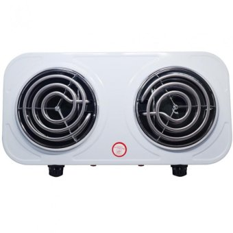 Microbishi MES-2010A Best Quality Dual 1000W Double Electric Stove(White) Price Philippines