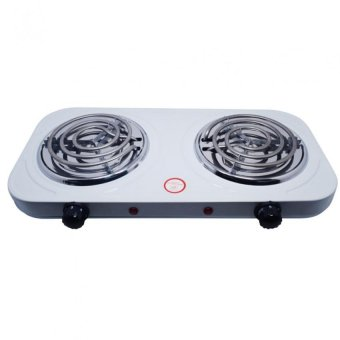 Microbishi MES-2010A Best Quality Dual 1000W Double Electric Stove(White) - 4