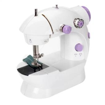 Microbishi MSM-202A There is Light 2-Speed Mini Electric SewingMachine Kit (White/Lavender)