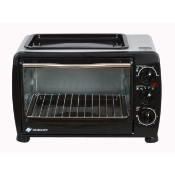 Micromatic KWS-12B Automatic Oven Toaster (Black) Price Philippines