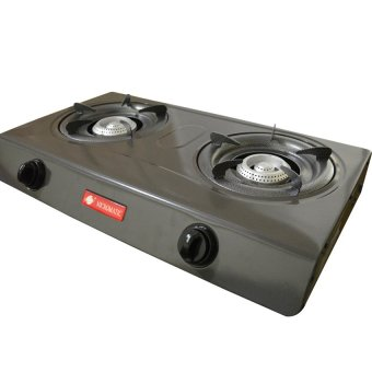 Micromatic MGS-232 Double Burner Gas Stove (Grey/Black) Price Philippines