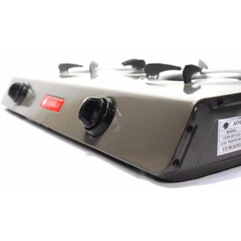 Micromatic MGS-650 Double Burner Gas Stove (Grey) - 3