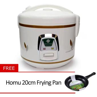 Micromatic MJR5028 Rice Cooker with Free Homu 20cm Frying Pan