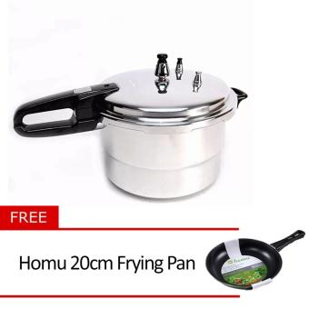 Micromatic MPC8QC Pressure Cooker with Free Homu 20cm Frying Pan
