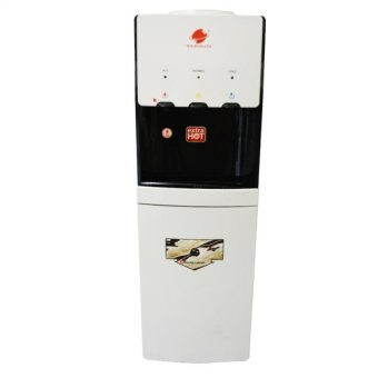 Micromatic MWD-2000 Hot and Cold Water Dispenser (White/ Black)