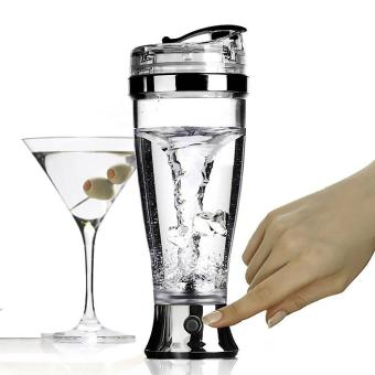Mixer 450ML Portable Protein Shaker Blender Mixer for Coffee JuiceCocktail Automatic Stirring Mug Electric Mixer - intl
