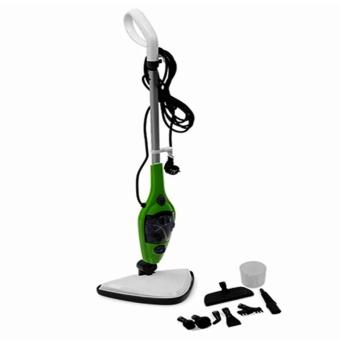 Mop X10 Multifunctional 10-in-1 Steam Cleaner (Green)