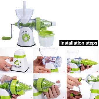 Multi-function Manual Orange Fruits/Vegetable Juicer MachineKitchen Fresh Juice Extractor - intl - 3