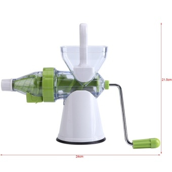 Multi-function Manual Orange Fruits/Vegetable Juicer MachineKitchen Fresh Juice Extractor - intl - 5