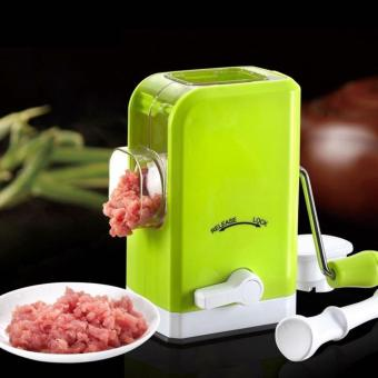 Multifunctional Manual Meat Grinder (Green) - 2