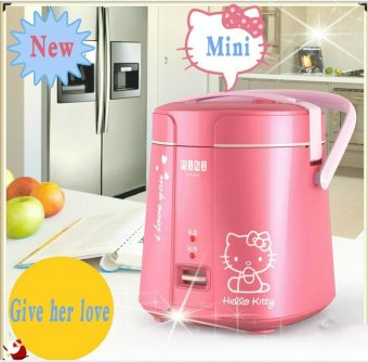 Multifunctional Mini Electric Rice Cooker Intelligent AppointmentSmall Student Rice Cooker 1.2L 1 to 2 People (Pink) Price Philippines