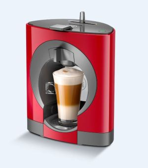 NESCAFE DOLCE GUSTO Oblo Coffee Machine (Red)