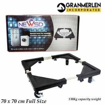 New Granmerlen Multi-functional Small Adjustable Stand for WashingMachine, Refrigerator Rack (Small)
