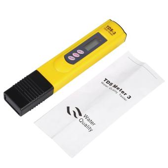 New LCD Water Quality Testing Pen Purity Filter TDS Meter Tester0-9990 PPM Temp Yellow - intl Price Philippines