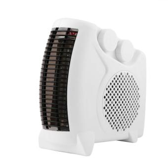 OH Portable Electric Heater Bathroom Warm Air Blower Fan Home Heater 200W-500W White