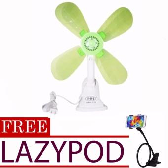 Portable Clip Electric Fan (color may vary)with FREE Lazypod (colormay vary) Price Philippines