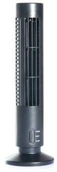 Portable USB Mini Tower Fan (Black)