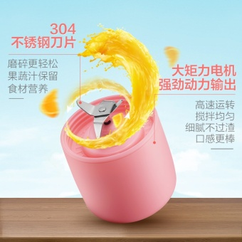Rechargeable Electric Juice Blender & Mixer Personal SmoothieMaker With for Traveling Working Outdoors - intl - 4