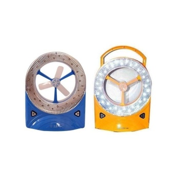 Rechargeable Fan Set of 2 (Blue/Yellow)