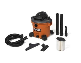 Ridgid 12 Gallon Wet and Dry Vacuum (Orange) - picture 2