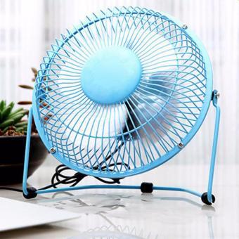 Rukia Scarlett Wireless Electric Kettle 1.8L (Silver) with USB MiniCooling Fan (Blue) - 4