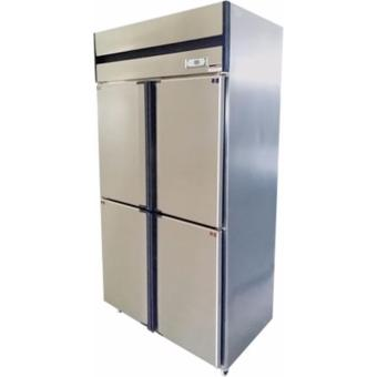 Scan 31 cu.ft Stainless Steel Four Door Freezer